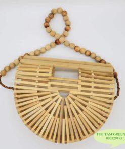 Túi xách làm bằng tre