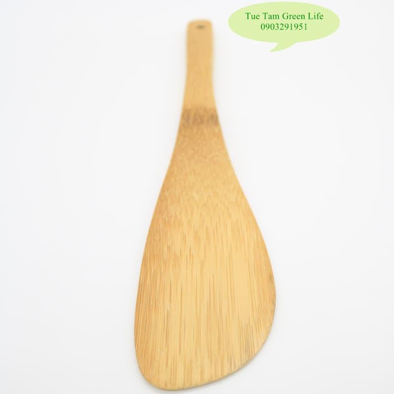 Thìa xới cơm bằng tre